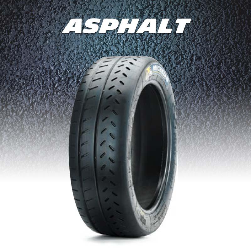 Asphalt rallye tyres