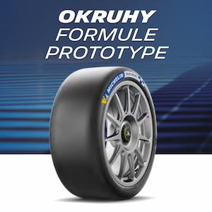 Okruhové pneumatiky pro formule a prototypy
