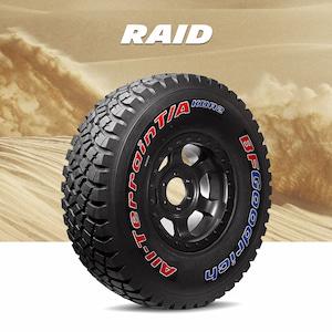 Offroadové pneumatiky pro RAID soutěže